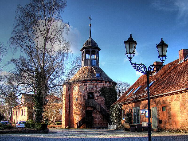 Der Schlossturm in Lauenburg/Elbe