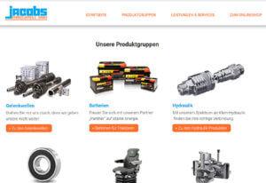 Screenshot Referenz Jacobs Fahrzeugteile
