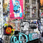 Street Art am Hackeschen Markt in Berlin